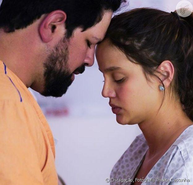 Sorocaba e Biah Rodrigues dançam na sala de parto de divertem a web