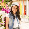 Giovanna Rispoli estreou na TV na novela 'Em Família'