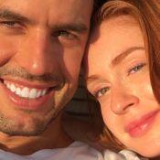 Marina Ruy Barbosa e marido esbanjam felicidade em foto na cama: 'Te amo'