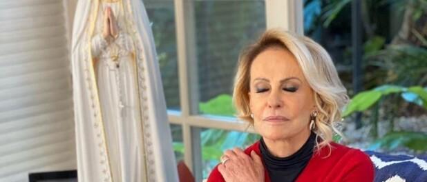 Ana Maria Braga lembra Hebe Camargo ao agradecer por cura do câncer em live