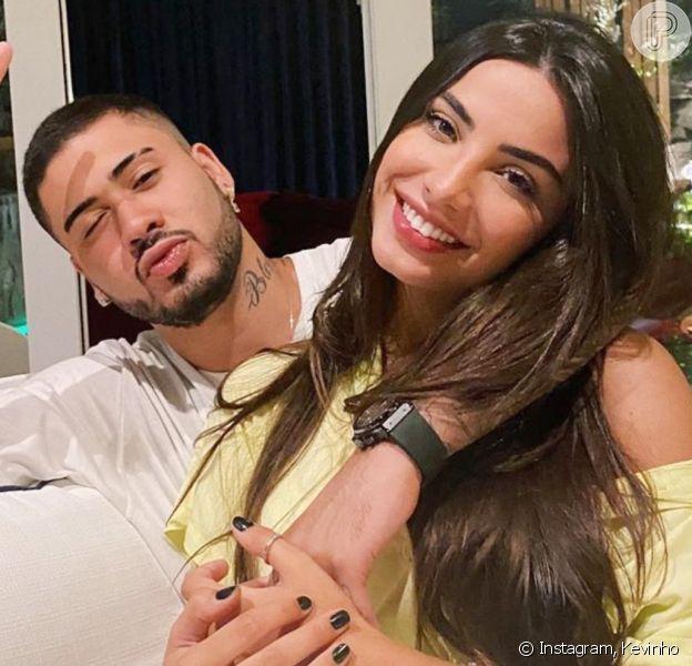 Kevinhohesitou primeiro beijo em Gabriela Versiani por ex-namoro da modelo com a DJ Bárbara Lábres: 'Fiquei inseguro de ir com sede ao pote'