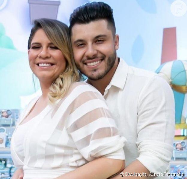 Marília Mendonça elege look estiloso para Dia dos Namorados com Murilo Huff