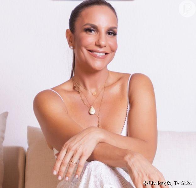 Ivete Sangalo combina look junino com filhas gêmeas, Marina e Helena, e esbanjam fofura