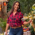 Ivete Sangalo promove festa junina em casa, em Salvador, na Bahia, nesta quarta-feira, 24 de junho de 2020