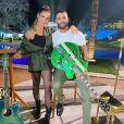 Mulher de Gusttavo Lima, Andressa Suita dividiu o microfone com o sertanejo em live