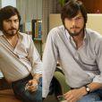 Ashton Kutcher deu vida ao fundador da Apple, Steve Jobs, no filme 'Jobs' (2013) e surpreendeu com a semelhança