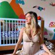 Giovanna Ewbank mostrou detalhes do quarto dos filhos