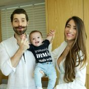 Alok e Romana Novais anunciam 2ª gravidez 7 meses após nascimento do filho, Ravi