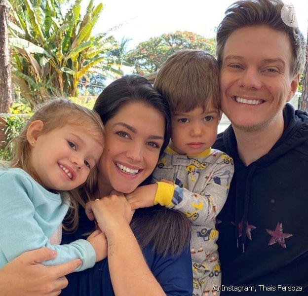 Thais Fersoza planeja festa de aniversário intimista para filhos com Michel Teló