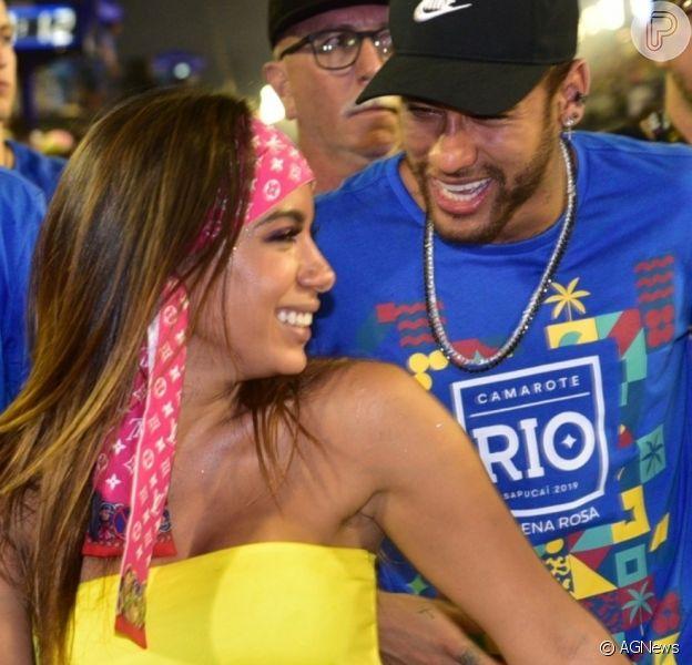 Anitta e Neymar vão se encontrar em Paris