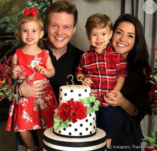 Filha de Michel Teló e Thais Fersoza ganha festa simples em aniversário de 4 anos