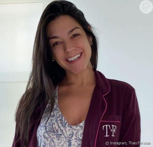 Thais Fersoza sem maquiagem: atriz exibe beleza natural em foto na web
