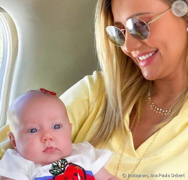 Ana Paula Siebert revela que foto com filha, Vicky, foi tirada por Rafaella Justus