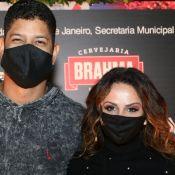 Viviane Araujo, Thiago Martins e Renata Dominguez levam pares a show. Fotos!