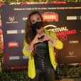Nicole Bahls curtiu a primeira noite do Festival de Inverno do Rio