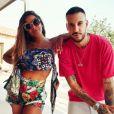 Anitta apostou em look com short de cintura alta de folhagens, de £ 625, R$ 4,4 mil na cotação atual, da Dolce & Gabbana