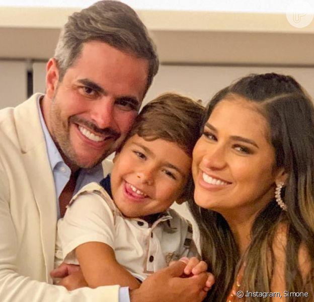 Marido de Simone, Kaká Diniz dá palpite sobre sexo do segundo filho