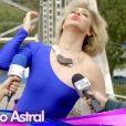 Claudia Raia diz que Samantha, sua personagem na novela 'Alto Astral', é divertida e faz de tudo para aparecer