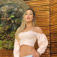Virgínia Fonseca admitiu incômodo com a barriga ao deixá-la de fora: 'Não está do jeito que eu queria'