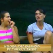 'A Fazenda': Heloisa Faissol diz que beijou Chico Buarque. 'Persegui por 2 anos'