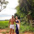 Andressa Suita e Gusttavo Lima vivem em uma fazenda