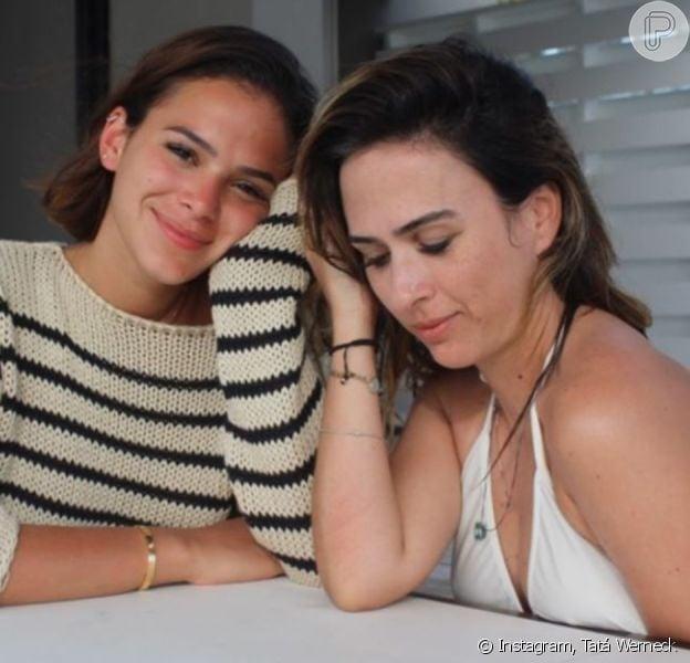 Foto de Bruna Marquezine e Tatá Werneck encanta a web: 'Bebês'