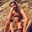 Grazi Massafera já havia apostado em biquíni tie dye para cachoeira com namorado, Caio Castro