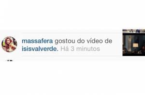 Grazi Massafera curte vídeo publicado por Isis Valverde no Instagram
