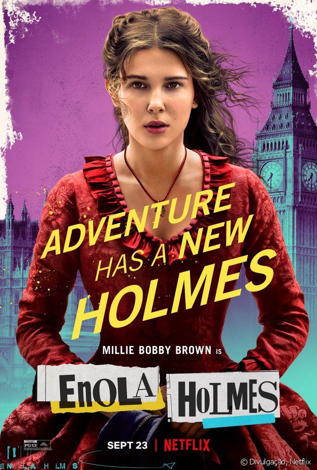 O filme Enola Holmes é baseado em livro de Nancy Springer
