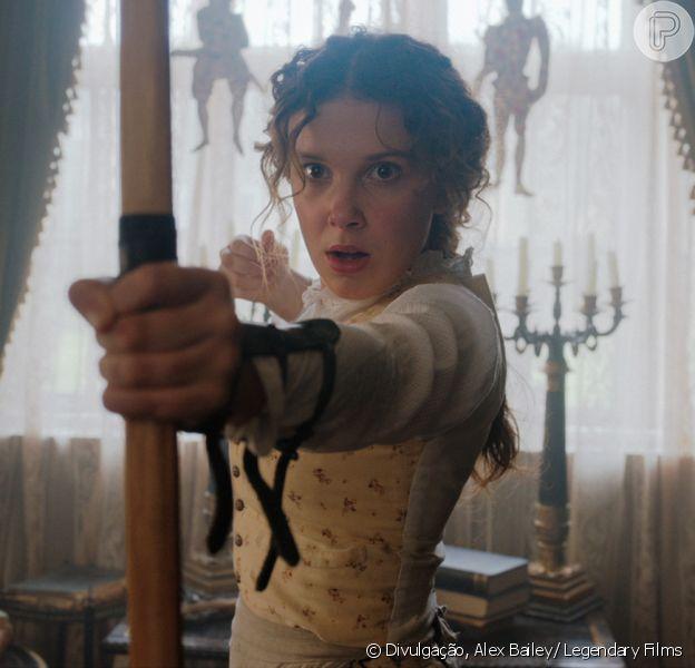O filme Enola Holmes é protagonizado por Millie Bobby Brown. Saiba mais sobre a produção na matéria desta terça-feira, dia 22 de setembro de 2020