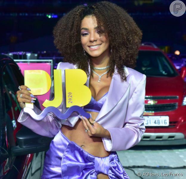Mulher de Ludmilla, Brunna Gonçalves usa look sexy no 'Prêmio Jovem 2020'