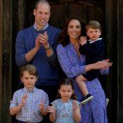 Looks combinando e roupa 'herdada': Kate Middleton mostra nova foto com filhos