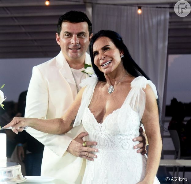 Veja fotos do 18º casamento de Gretchen Miranda!