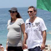 Herson Capri é papai pela quinta vez! Mulher do ator dá à luz Sofia no Rio