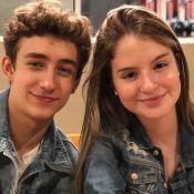 Foto de Sophia Valverde com ator de 'Poliana' deixa web em dúvida: 'Estão namorando?'