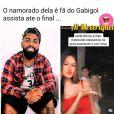 Veja comentário de Rafaella Santos em vídeo sobre Gabigol!