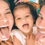 Mayra Cardi e Arthur Aguiar mostram festa de 2 anos da filha. Veja vídeos!