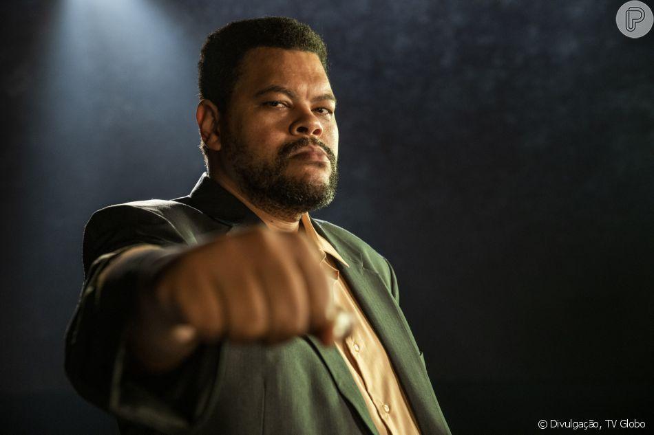 Babu Santana dará vida ao pugilista Muhammad Ali no especial 'Falas Negras'