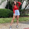 Filha de Kelly Key, Suzanna Freitas emagreceu com dieta e treinos