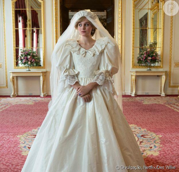 Vestido de noiva, peruca e mais: veja curiosidades sobre 'The Crown'