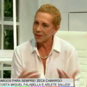 Arlete Salles comemora retorno ao trabalho após câncer: 'Desafio vencido'