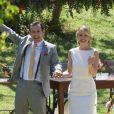 Novela 'Amor Sem Igual': Fernanda (Bárbara França) e Pedro Antônio (Guilherme Dellorto) festejam casamento
