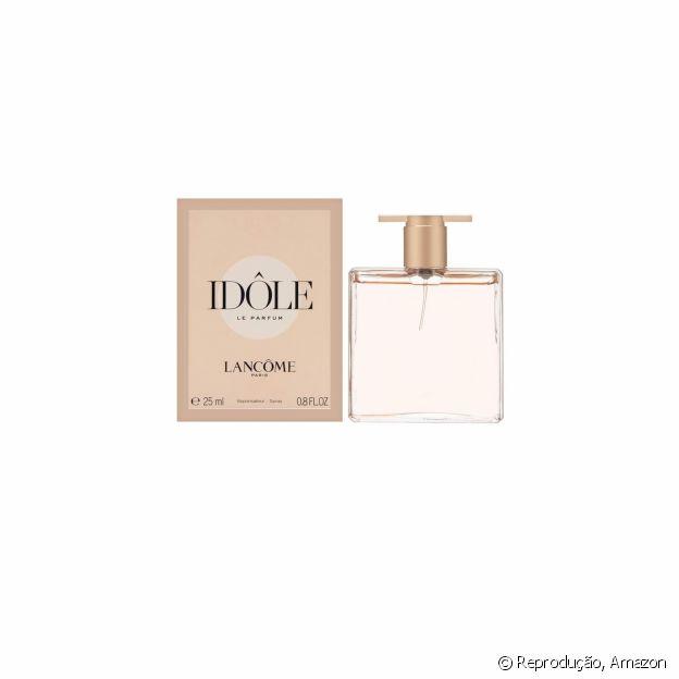 Perfume Idôle tem essência floral com notas de baunilha e cítricos
