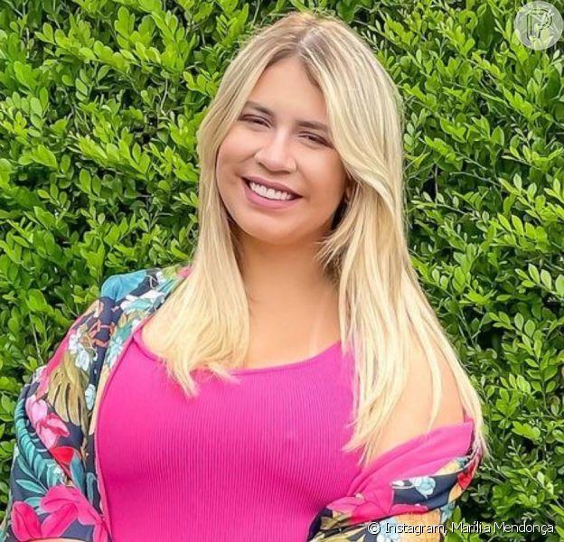 Marília Mendonça revela ter alcançado o peso de antes da gravidez