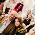 Zilu Godoi comemora chegada do Natal com o namorado,Antonio Casagrand, e rodeada de amigos na Flórida, Estados Unidos, nesta quinta-feira, 24 de dezembro 2020