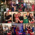 Post de Natal compartilhado por Thais Fersoza em suas redes sociais