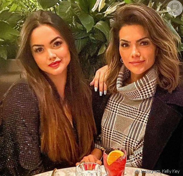 Suzanna Freitas revela pressão para ter corpo igual ao da mãe, Kelly Key