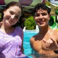 Igor Jansen entregou relação com Sophia Valverde ao postar foto: 'Casal'