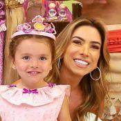 Jane, filha de Patricia Abravanel, completa 3 anos e ganha festa de princesa. Veja!