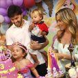 Filha de Patricia Abravanel, Jane ganhou festa nos seus 3 anos